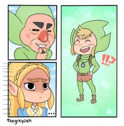 Tingle Link by thegreyzen