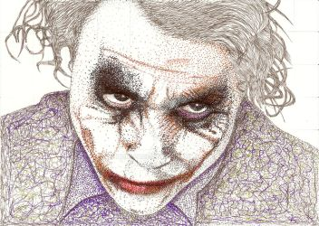 Joker - Heath Ledger by hurlface