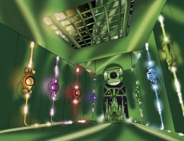 Green Lantern Great Hall Ver 2 by Dar-Til