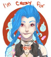 I'm CRAZY for you! by Yaheo