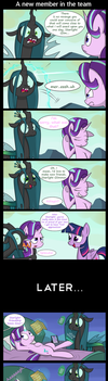 A new member in the team by Pandramodo
