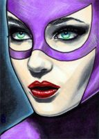 Catwoman Sketch Card 5 by veripwolf