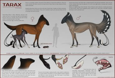 Tarax species concept [outdated] by AniutqaART