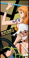 One Piece Volume 70 - Usopp and Nami by SergiART