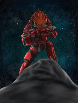 Krogan by Ma-ari