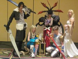 Final Fantasy Dissidia by xHee-Heex