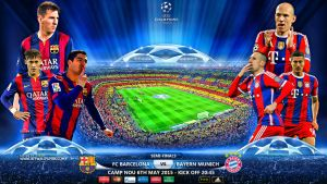 FC BARCELONA - BAYERN MUNICH CHAMPIONS LEAGUE by jafarjeef
