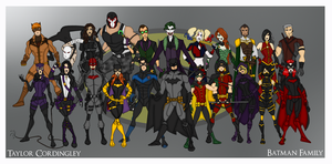 My DCU - Batman Family Redesigns by Femmes-Fatales