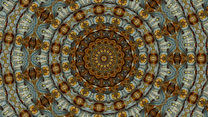 The Mandala of the Eternal Non-existent moment by Jakeukalane
