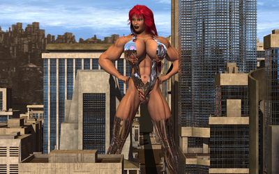 Knockout 6 by Giantess-Cassie