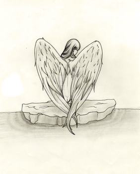 Floating Angel by musickgirl