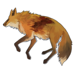 Fox Carcass - 100 Crystals by The-Below