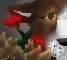 Rose PFP Fall by Wolfg1rl37