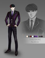 Theodore Agreas Reference by PeachyProtist