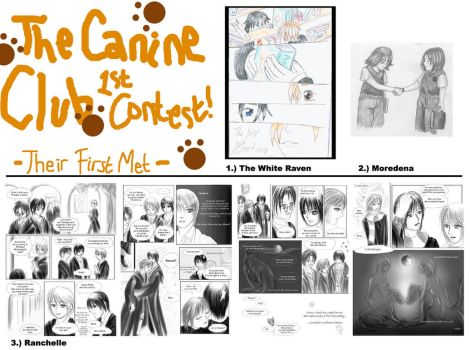 1st Contest - First Met by canineclub