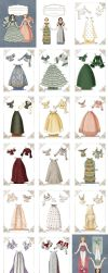 Victorian Mix and Match Paper Doll by juliematthews