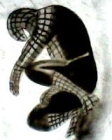 2012 drawing - black spider-man by nielopena