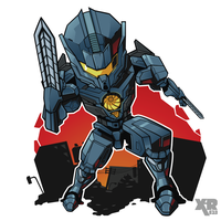 FA Pacific Rim Uprising : Gipsy Avenger by XaR623