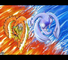 The Sun and the Moon by ShadowChild71