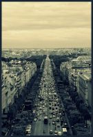 Paris - 5 - Champs Elysees by etr-wroclove