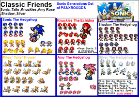 Sonic Generations: Sonic Friends (Classic) by SonicGenerations564s