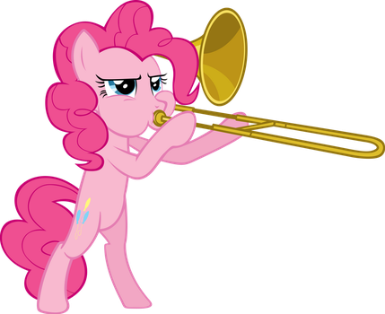 Trombone is Serious Business by Spaceponies