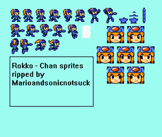 Rokko Chan Sprite rip by NovaWare-Official