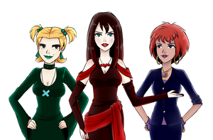 Hex Girls by WT-01