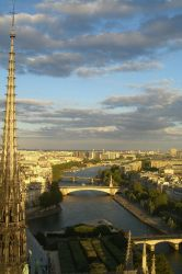 Paris view from Notre-Dame by IgnacioSan