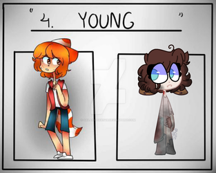 |COLLAB| Draw your OC in: A young age by GalaxyPixies45