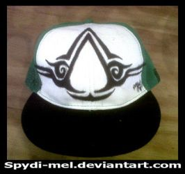 Assassins Creed Tribal ...on a HAT! by Spydi-mel
