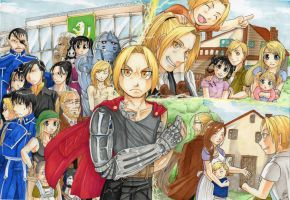 - FMA Brotherhood Contest - by Pure-Ivory