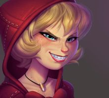 One face a day 213/365. B. B. Hood (darkstalkers) by Dylean