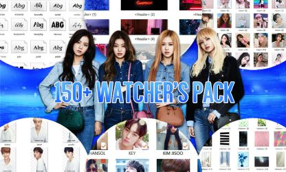 150+ Watchers Pack Preview by AngellBeats