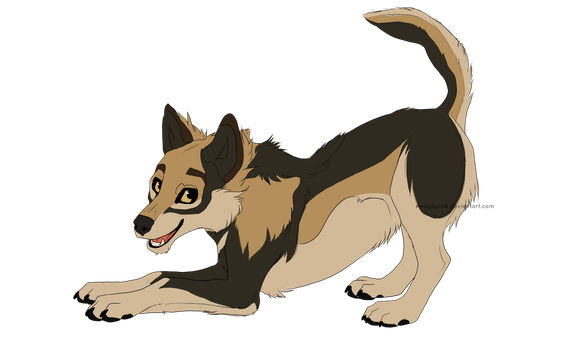 Puppy Finch by pinkykyra