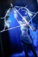 Aion 2.7. Tac Officer Leather set_with the arrow by IcyIrena