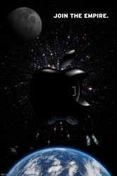 Apple Death Star by mental-awareness