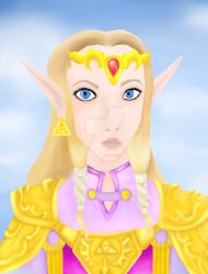 Princess of Hyrule by MadameLoca