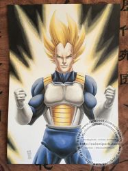 Super Vegeta by SuiseiKillfaeh