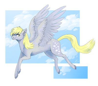 Derpy by SsilverBeeze
