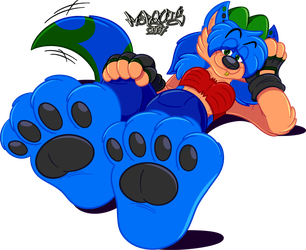 Big Strong Paws by Marquis2007