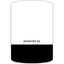 Powered By case badge Blank Template by heavyoak