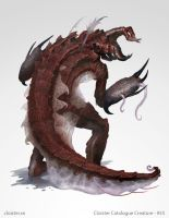 Vethmer - Creature concept by Cloister