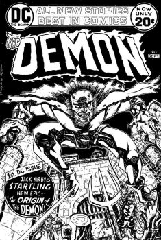 The Demon Cover Recreation by johnraygun