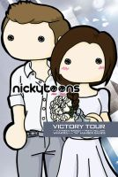 Hunger Games - Katniss and Peeta by NickyToons