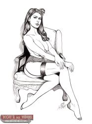 Tayler as Josie Taylor PinUp Inks by DocRedfield