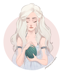 Daenerys by dorodraws