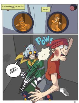 PunchBuggyMan #1 page 1 by RoboGuy9000