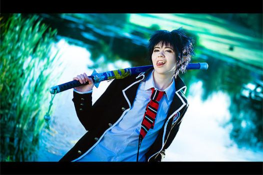 Ao no Exorcist - I by HampusAndersson