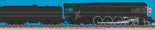 4449 Black WIP by wolfnut2985